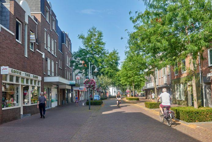 Straten in Veghel Centrum: Hoofdstraat.