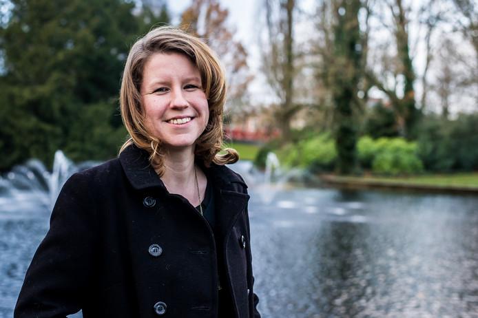 Cynthia Pallandt, fractievoorzitter van de Partij voor de Dieren van waterschap Brabantse Delta.