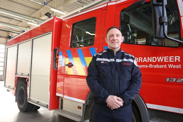 Rudy Dewinter was met zijn ploeg als eerste ter plaatse op de treinramp in Buizingen.
