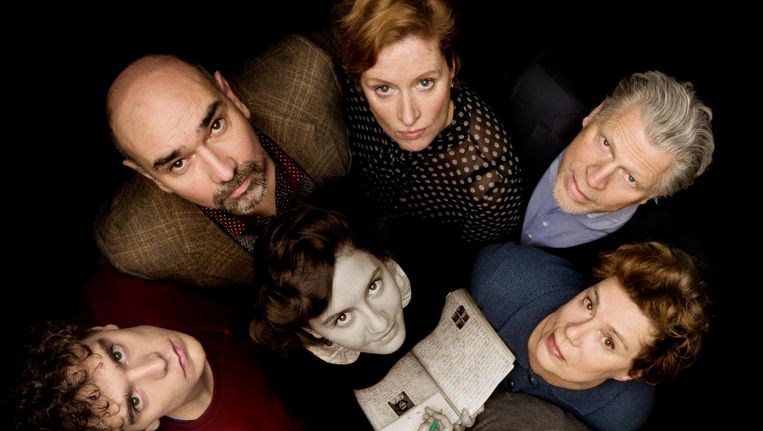 De cast van Het Achterhuis. Beeld Hummelinck Stuurman Theaterbureau