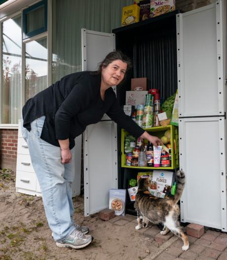 Neem-geef-kast in Schijndel helpt minima door coronacrisis