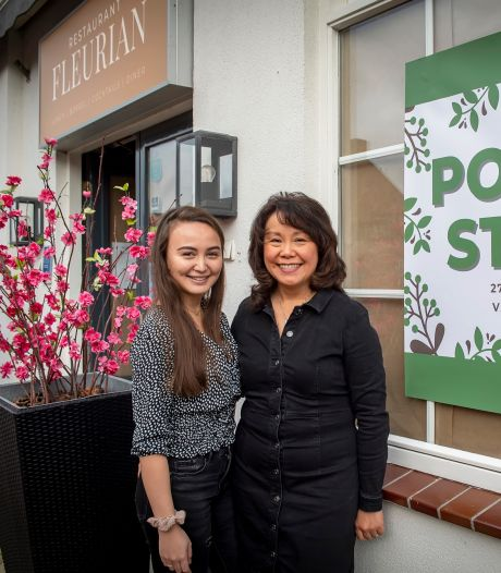 Fleurian in Huijbergen maakt van het restaurant een pop-up store