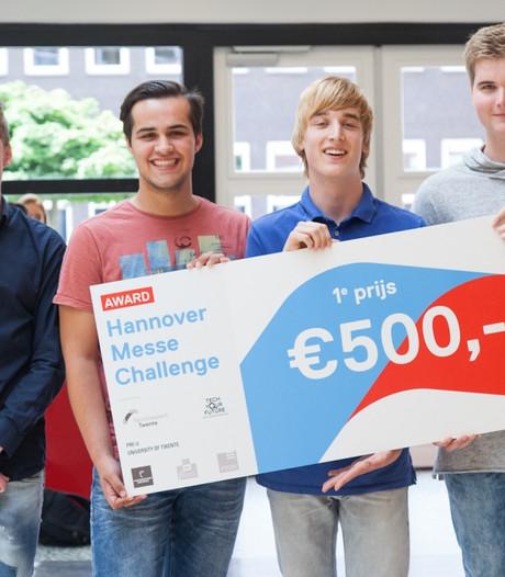 Prijs voor slimme app van vier Carmelleerlingen uit Oldenzaal