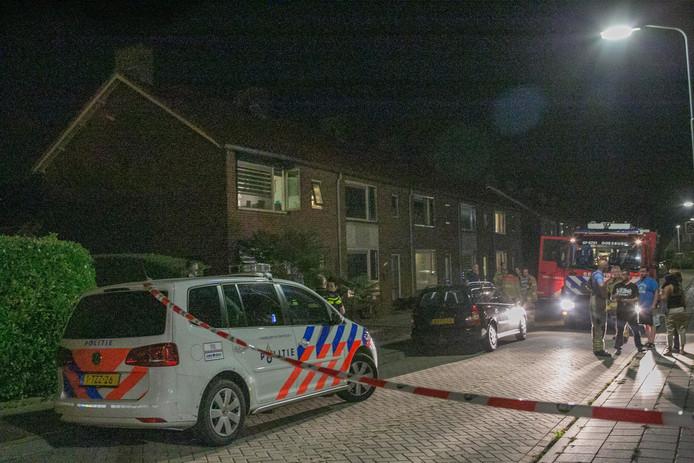 De Van Ubelstraat in Doesburg is tijdelijk afgesloten geweest.