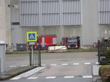 Brand bij afvalverwerkingsbedrijf SUEZ in Roosendaal