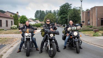 7.500 km op de motor tegen kanker