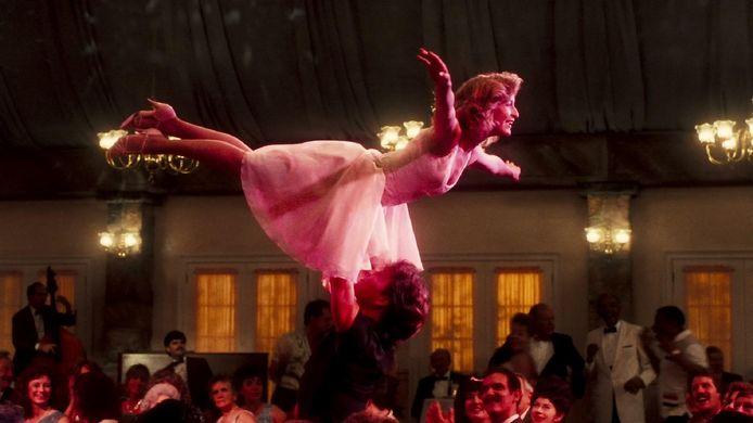 Een iconische scène uit 'Dirty Dancing'.