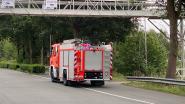 Brandweer rukt uit voor mazoutvervuiling in kanaal Gent-Brugge-Oostende