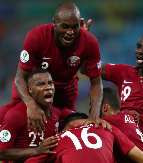 Debutant Qatar pakt punt tegen Paraguay na knappe comeback