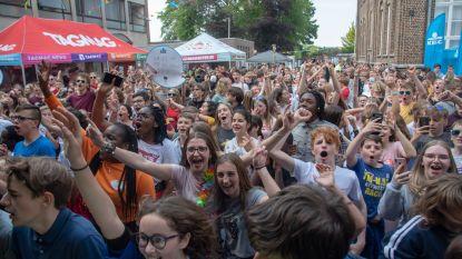 Het leukste eindwerk ooit: leerlingen SFI Melle toveren schoolterrein om tot festivalweide