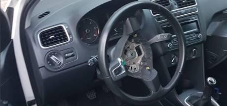 Serie auto-inbraken in Lelystad, acht airbags weg