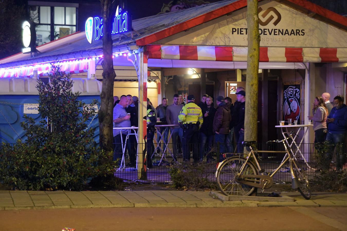 Schietpartij bij De Aftrap in Eindhoven.