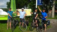 'Vlaamse Primitieven' halen 2.880 euro op met fietstocht