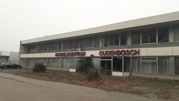 Leegstaande handelscentrum Oudenbosch