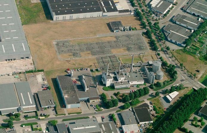 De warmtecentrale van Ennatuurlijk in Helmond.