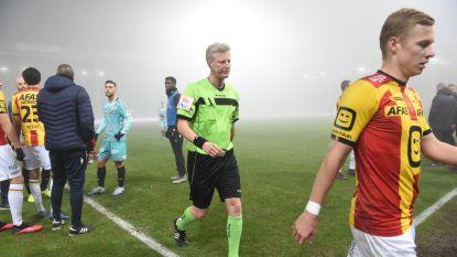 Charleroi-Mechelen definitief stopgezet door dichte mist. Pro League wil match volledig laten herspelen op 4/2, maar Charleroi gaat niet akkoord