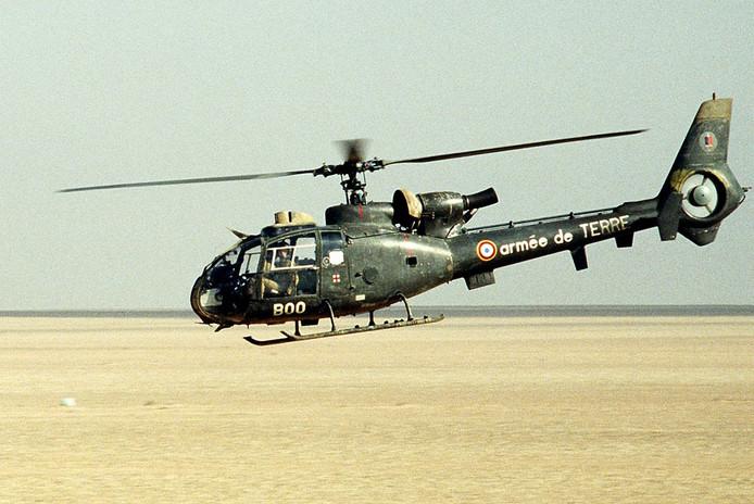 De twee heli's zouden van dit type, SA342 Gazelle, zijn. (Archieffoto)