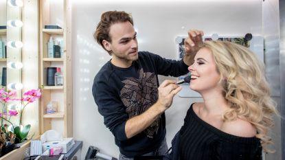 """Mitch Fabry ontvangt BV's in zijn make-upmobiel: """"Doodnormaal in Hollywood, uniek in Vlaanderen"""""""