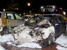 Twee autobranden in Culemborg, auto's total loss