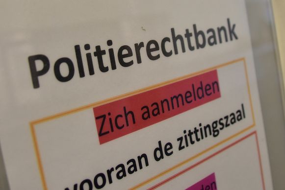 Politierechtbank Kortrijk.