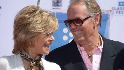 """Jane Fonda reageert op overlijden van """"kleine broertje"""" Peter Fonda"""