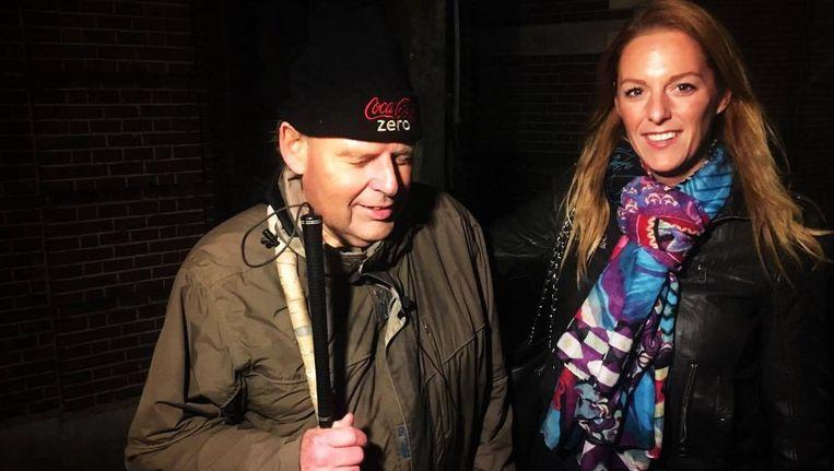 Bennie Volkens met Laura van der Horst Beeld Laura van der Horst