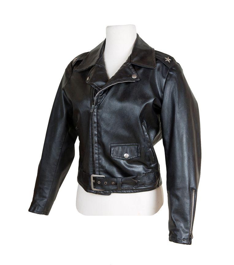 Het lederen jasje dat Olivia Newton-John droeg in 'Grease' wordt geveild.