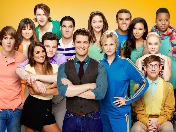 De cast van 'Glee'