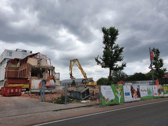 Het oude rusthuis in Hoogstraten is nagenoeg volledig verdwenen.