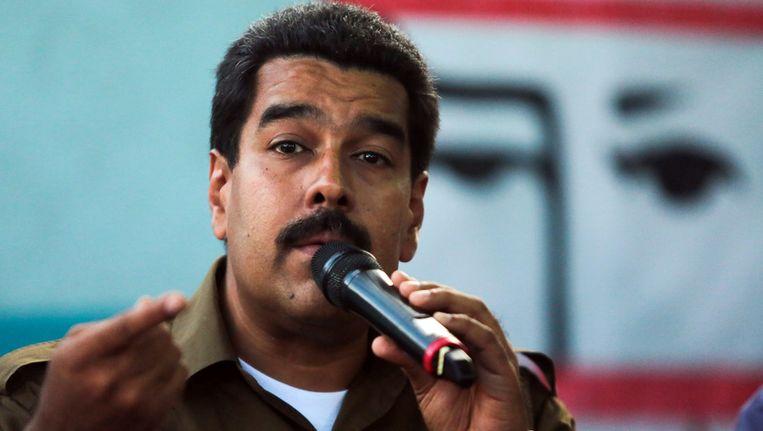 Nicolas Maduro Beeld afp