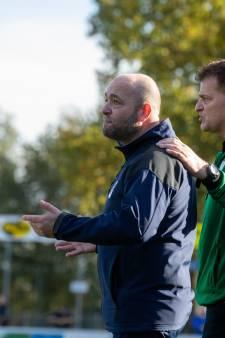Trainer Robert Slinkman gaat nog wel even door bij Diepenveen