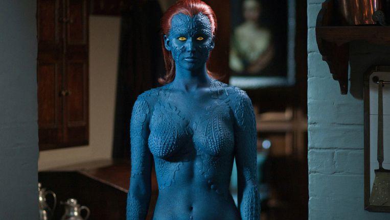 Jennifer Lawrence als Mystique Beeld Still
