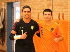 Zege en remise voor Ben Sellam en Azzanagui met Oranje onder 19 in Zeeland