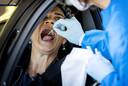 Testen op het coronavirus. Foto ter illustratie.