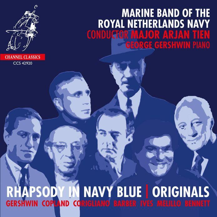 Rhapsody in Navy Blue.