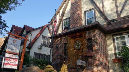 Huis waar Donald Trump zijn vroegste jeugd doorbracht opnieuw op de markt