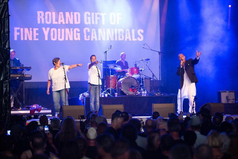 Onder meer Roland Gift Of Fine Young Cannibals stonden al op het podium van W-Fest.