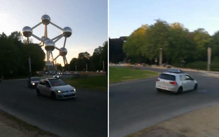 Eerder deze week deelde een buurtcomité uit Brussel beelden van de straatracers.