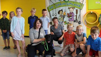 Leerlingen De Springplank sparen 3,4 ton dopjes voor blindengeleidehond