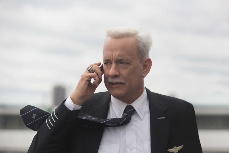 Tom Hanks in Sully. Beeld AP
