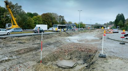 Werken Woluwedal na bijna 3 weken stilstand hervat