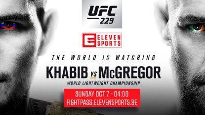 Khabib versus McGregor: zo kan je als lezer van Het Laatste Nieuws voordelig kijken