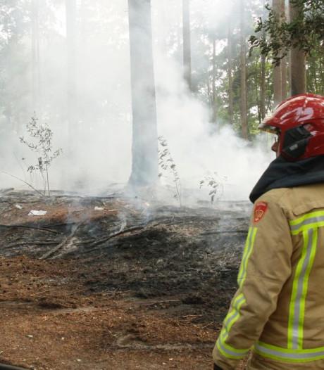 Kurkdroog, maar de brandweer in de regio draait (nog) geen overuren