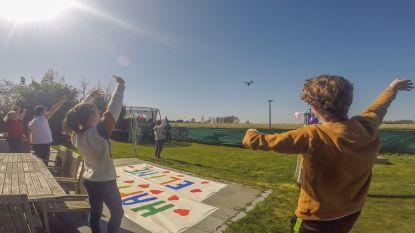 """VTM-drone vliegt vrijdag over Brakel: """"Kom even uit uw kot"""""""