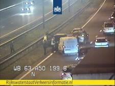Ongeval met meerdere auto's op A50 bij Apeldoorn, rijstrook weer open
