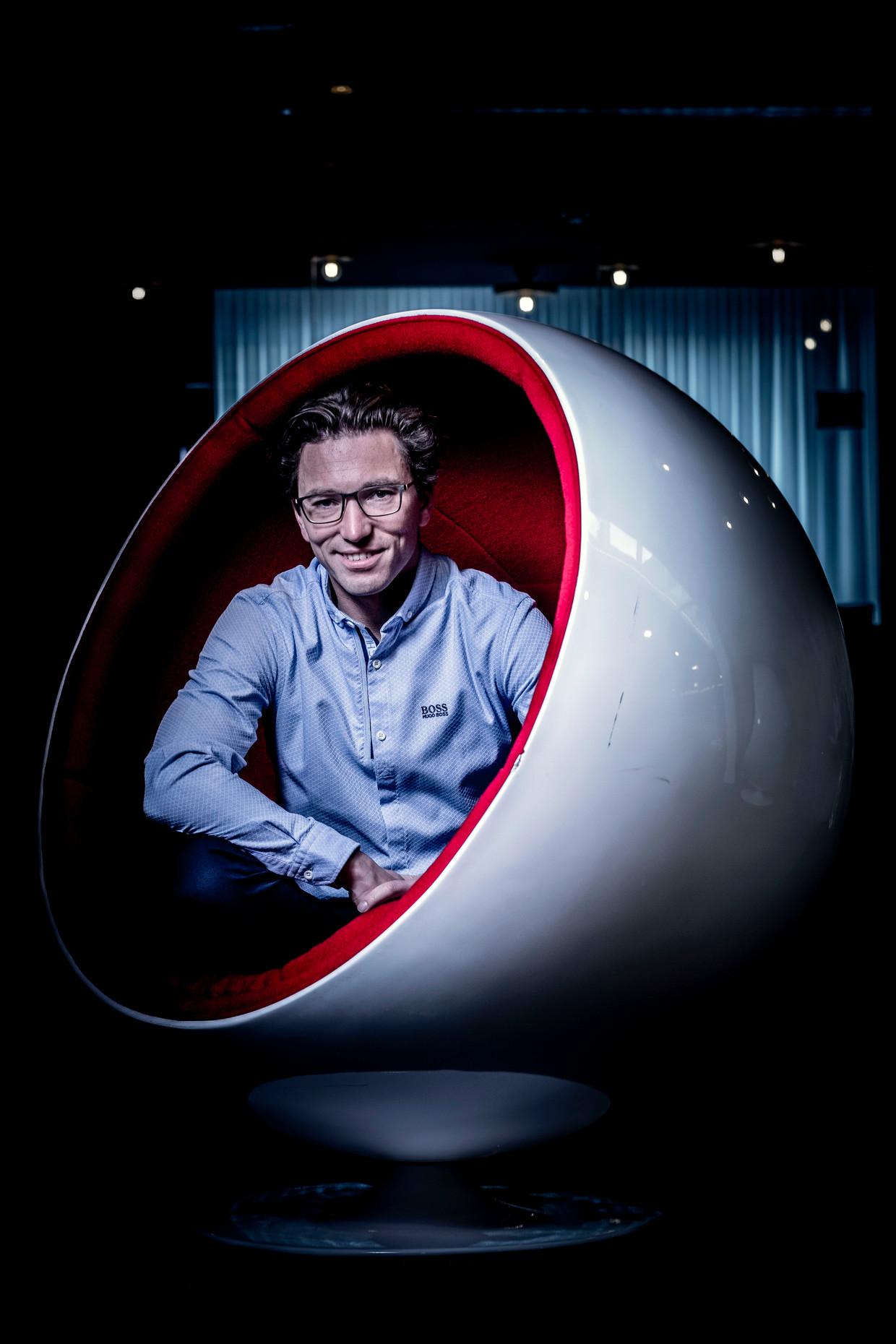 Jonas Dhaenens, stichter en CEO van Combell.
