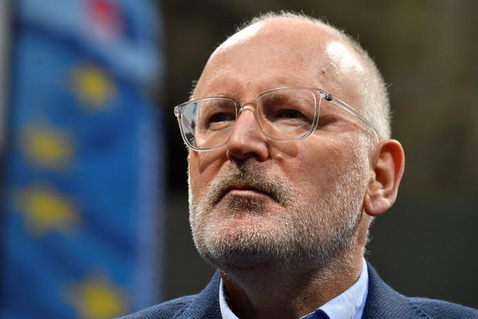 Frans Timmermans (PvdA) is Eurocommissaris en lijsttrekker voor de socialisten bij de Europese verkiezingen