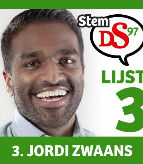Op welke raadszetel gaat Jordi Zwaans zitten? Richting Maashorst Vooruit
