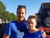 Niels en Sharon zoenden al bij de scouting