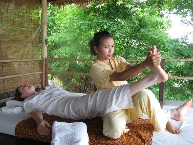 Thaise massage.